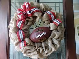 uga football wreath uga wreath bulldog wreath football