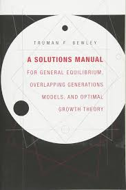 a solutions manual for u003ci u003egeneral equilibrium overlapping