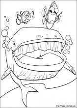 finding nemo feel warmth finding nemo coloring pages