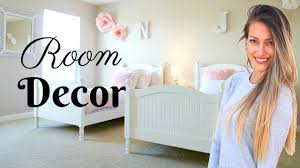 New Home Decor by New Home Decor Girls Room Decor Minimalist Budget Decor Youtube
