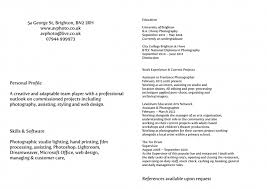 Freelance Photographer Resume Sample by Attached Please Find My Resume Samples Of Resumes