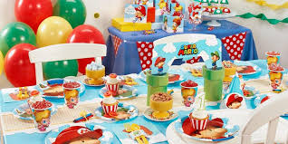 mario party supplies mario bros babies 1st birthday party supplies kids party depot