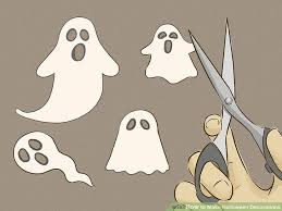 How To Make Little Ghost Decorations 5 Ways To Make Halloween Decorations Wikihow
