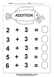 math worksheets kindergarten worksheet for and first grade free