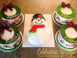 holiday cakes celebrations by sonja