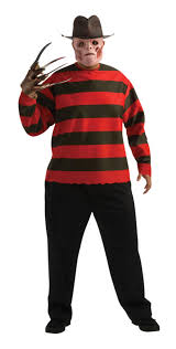 Halloween Freddy Krueger Costume Size Freddy Krueger Costume Mens Halloween Costumes