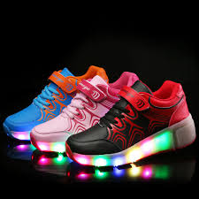 heelys light up shoes new children heelys shoes with led lights up kids roller shoes with