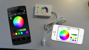 color led light strips wi fi dioder light controls on your smartphone ikea hackers
