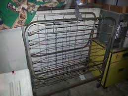 Folding Rollaway Bed Vintage Folding Rollaway Metal Bed Frame Only Has Alittle Surface