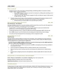 content marketer resume samples u0026 examples