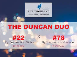 duncan realtors the duncan duo continues to pile up awards as the 1 ta