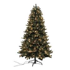 itwinkle christmas tree home accents 7 5 ft blue spruce twinkle set
