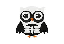 owl skeleton embroidery designs daily embroidery