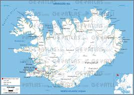 World Map Pdf Geoatlas Countries Iceland Map City Illustrator Fully