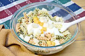 easy kid friendly pasta salad recipe brie brie blooms