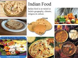 types of indian cuisine presentation name
