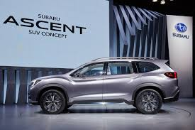subaru suv concept pictures of car and videos 2017 subaru ascent suv concept