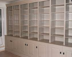 Break Front Bookcase Large Painted Breakfront Bookcase