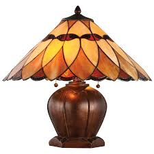 Tiffany Table Lamps Shop Bel Air Lighting 17 125 In 3 Way Oil Rubbed Bronze Tiffany