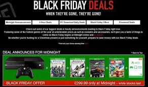 black friday deals offering xbox one and ps4 bundles
