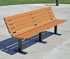 Park Benches Recycled Plastic New Contour Park Bench
