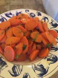 sugar free glazed carrots