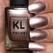 kl polish 2017 spring collection swatches review the