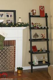 green with decor tips for styling a ladder shelf