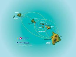Map Hawaii Where We Fly