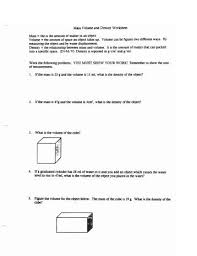 calculate density worksheet free worksheets library download and