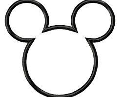 mickey mouse head etsy