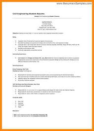 Sample Resume For Ojt Mechanical by Example Resume For Ojt Civil Engineering Students Resume Ixiplay