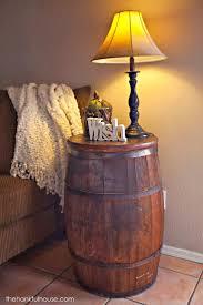 Whiskey Barrel Kitchen Table 12 Best Barrels Images On Pinterest