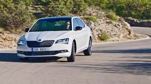 2017 skoda superb sportline interior exterior and drive skoda
