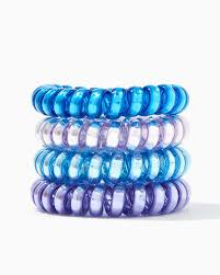 ponytail holder spiral ponytail holder set charming