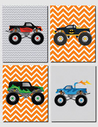 monster truck kids show monster truck parking would b cool n boys room for the kids