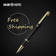metal design fountain pen for drawing sketch signature cartoon