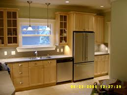 Ranch Style Kitchen Cabinets by Cool Galley Kitchen Decors With White Cabinet Set And Funnel