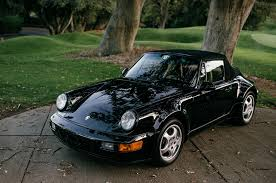 porsche 911 america just listed 1992 porsche 911 america roadster with just 3 366