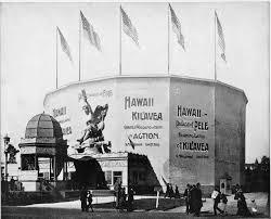 Chicago World S Fair 1893 Map by Hawaiian Exhibit