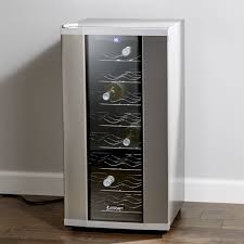 Wine Cabinet With Cooler by Wine Chillers Crate And Barrel
