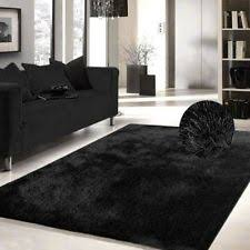 Solid Black Area Rugs Tufted Solid Black Area Rug Shag Rug 5 Inchi X 7 Inchi