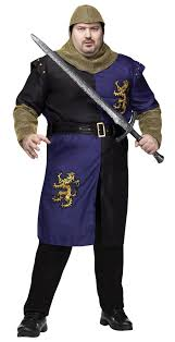 medieval renaissance knight plus size costume mr costumes