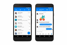messenger apps for android gives messenger a material design makeover on android