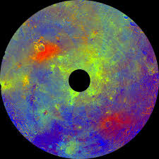 rainbow of colors reveal asteroid vesta as more like a planet