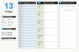 Excel Template Schedule Daily Work Schedule Template Excel Xlsx