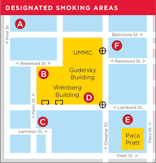 Pratt Map Tobacco Free Hospital University Of Maryland Medical Center