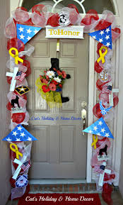 marine decorations for home memorial day door decor memorial day or 4th of july pinterest