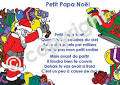 Petit Papa No��l + mp3 Soundtrack | Childrens French Learning