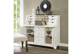 Secretary Desk With Hutch by Sullivan Secretary Desk In White Finish By Crosley Ship